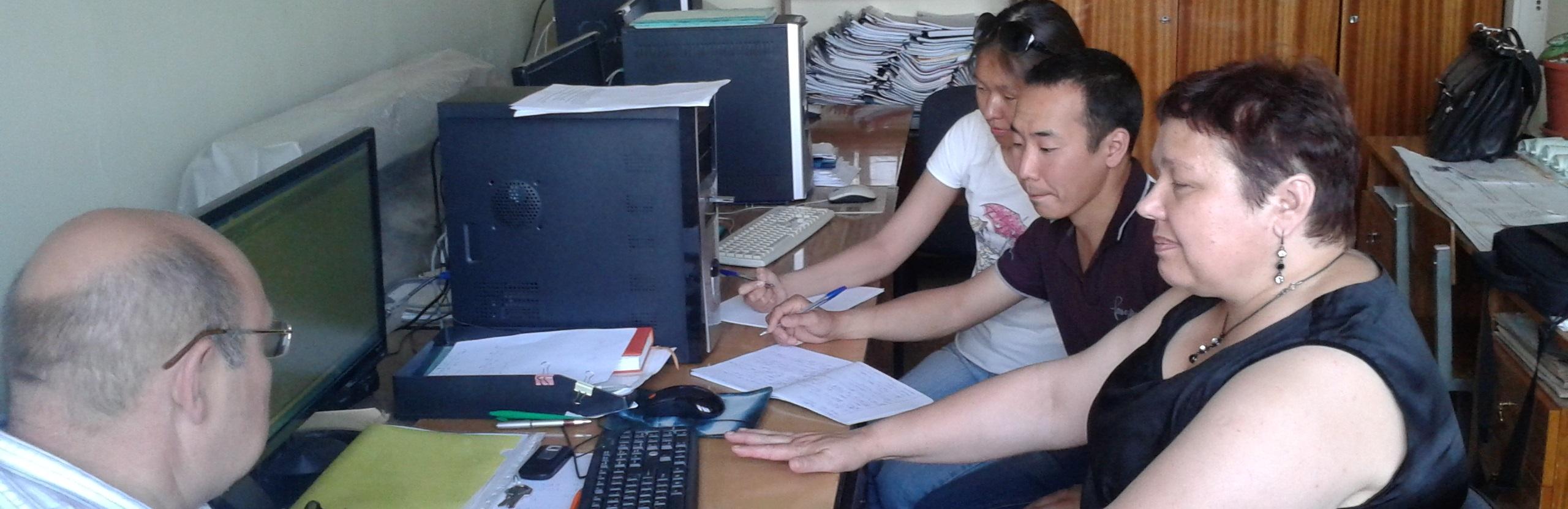 Лаборатория сотрудничает с организациями реального сектора экономики – с муниципальным казенным учреждением «Служба эксплуатации городского хозяйства» ГО «Город Якутск»